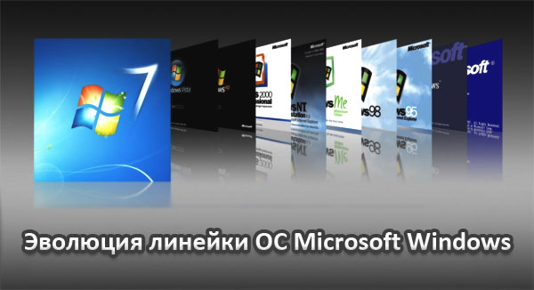 эволюция Windows